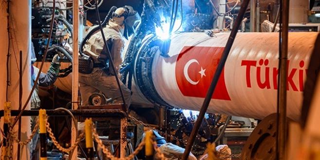TürkAkım'ın deniz bölümünün yarısı tamam