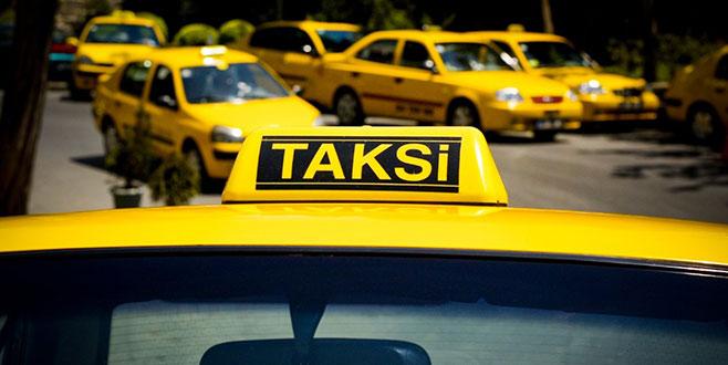Bursa'da taksi ücretlerine zam...