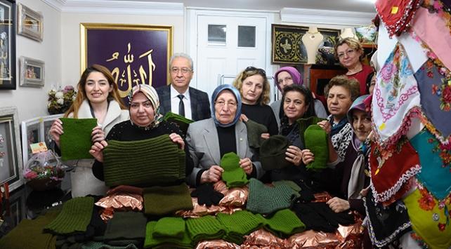 Bursalı esnaf kadınlardan Afrin'deki Mehmetçiğe destek