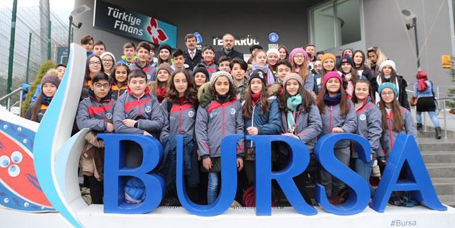 Çocuklar Büyükşehir'le Uludağ'ı keşfediyor