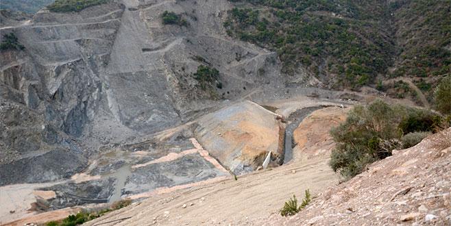 Gölecik Barajı inşaatı durdu