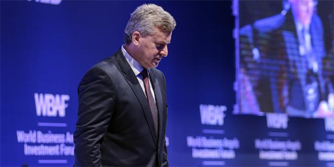 Makedonya Cumhurbaşkanı Ivanov, Türkiye'de