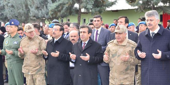 JÖH'ler ve güvenlik korucuları dualarla Afrin'e uğurlandı