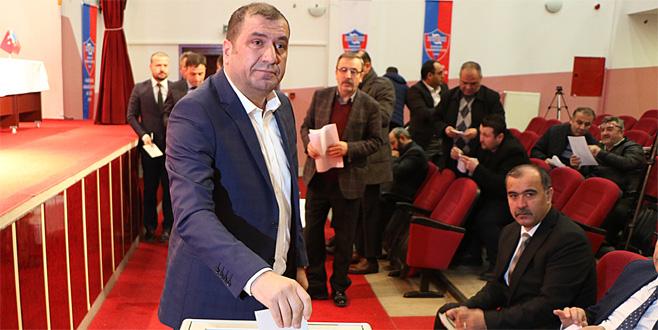 Karabükspor'a esnaf başkan