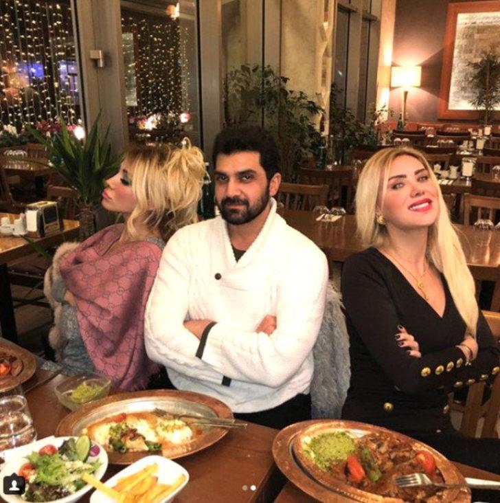 Popstar Bayhan'dan Ciciş kardeşlere yakın markaj