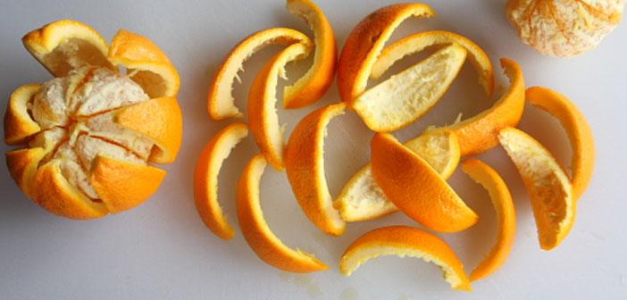 Portakal kabuklarını atmayın! İşte nedeni..