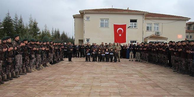PÖH'ler dualarla Afrin'e uğurlandı