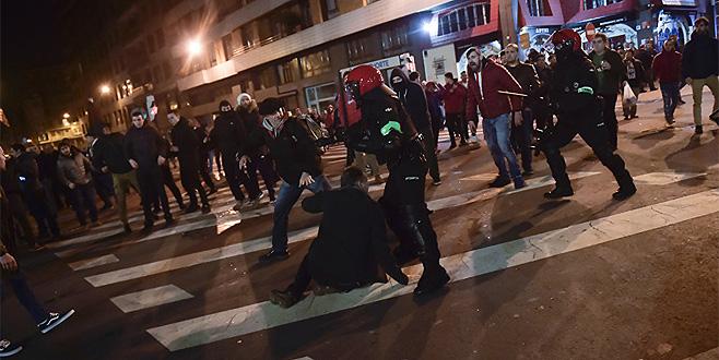 İspanya'da holigan terörü