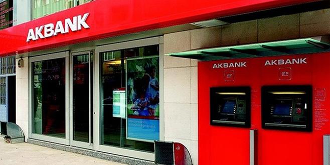 Çalışan başına kâr rekoru Akbank'ın