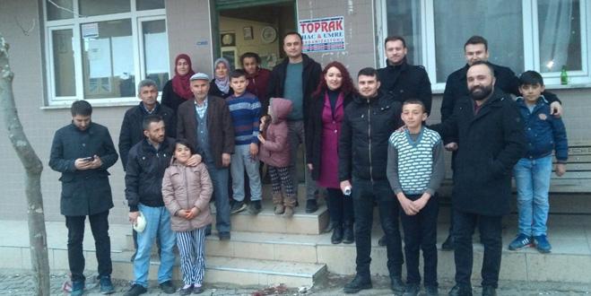 Öğretmenlerden velilere ev ziyareti