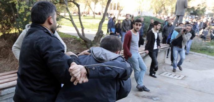 Üniversiteler karıştı: 167 gözaltı