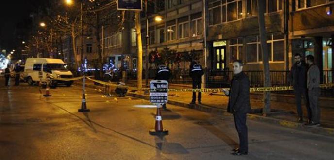 Şişli'de kalaşnikoflu infaz: 2 ölü, 1 yaralı