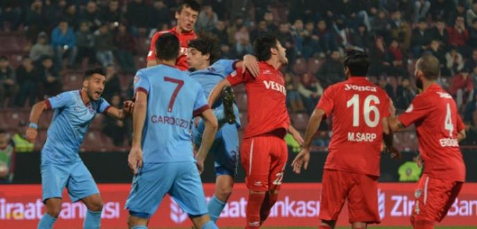 Trabzonspor Manisaspor'u 9-0 mağlup etti