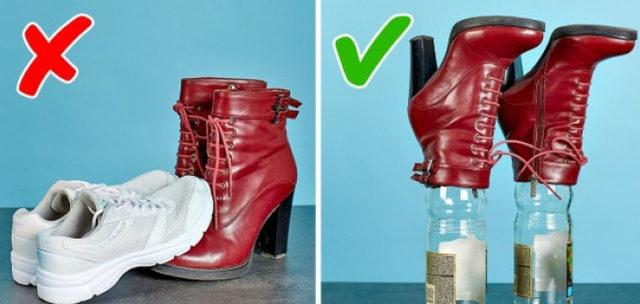 Ayakkabılarınız bu püf noktalarıyla yeni gibi görünecek