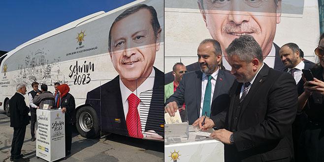'ŞEHRİM 2023' projesi Bursa'da başladı
