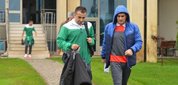 Bursaspor, Gaziantep'e gitti