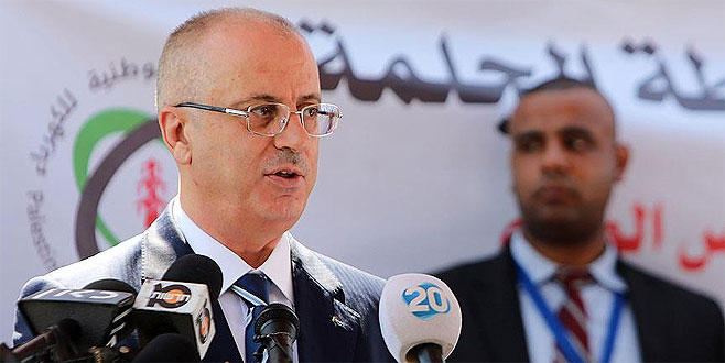 Filistin Başbakanı'nın konvoyunda patlama