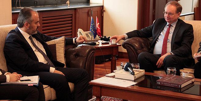 AB Türkiye Delegasyonu Başkanı Berger,Bursa'da