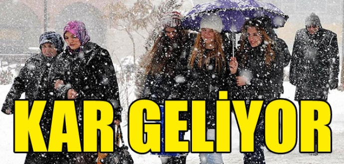 Yeni yıl soğuk ve karla geliyor