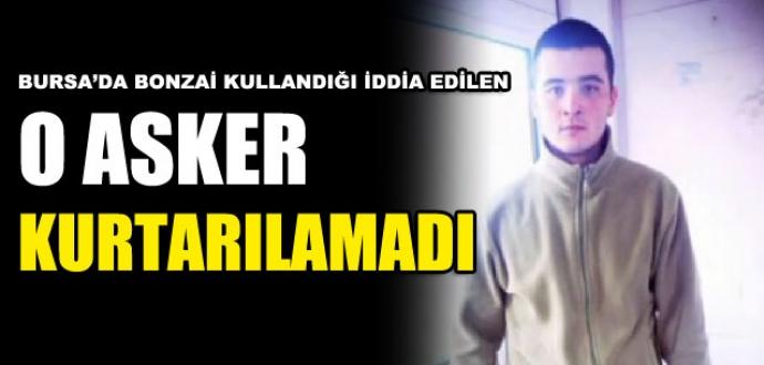 Bursa'da cezaevinde görevli askerin şüpheli ölümü!