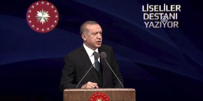 Erdoğan'dan Avrupa'ya rest: Boşuna heveslenmeyin, işimiz bitmedikçe Afrin'den çıkmayacağız!