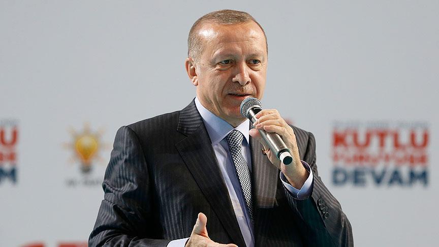 'Erdoğan: Afrin'in 4'te 3'ünde kontrolü sağladık'