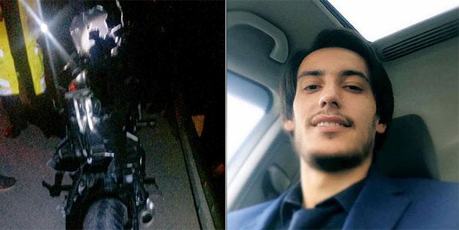Bariyerlere çarpan motosiklet sürücüsü hayatını kaybetti