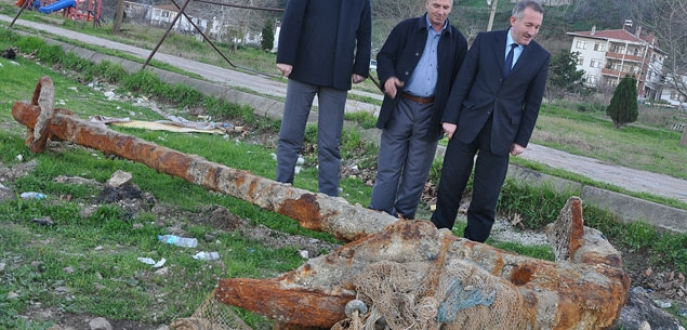 Marmara'dan tarihi çapa çıktı