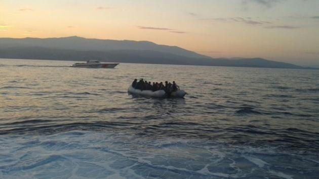 Ege'de göçmen teknesi battı: 14 ölü