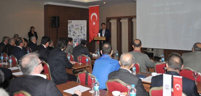 Belediyelere hizmet içi eğitim semineri