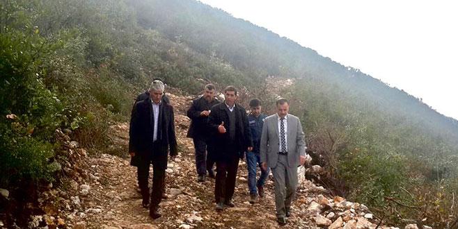 Orman köylerinde defnesahalarına rehabilitasyon