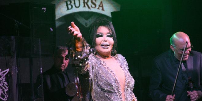 Diva, Bursa'da konser verdi