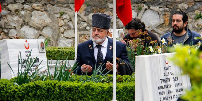 Çanakkale şehitleri Bursa'da törenlerle anıldı
