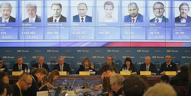 Rusya'daki seçimlerde Putin önde