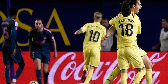 Enes Ünal Atletico Madrid'i dize getirdi