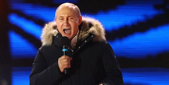 Putin'den zafer konuşması!