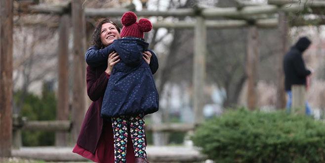 Röportajdan etkilendi annelik duygusunu tattı