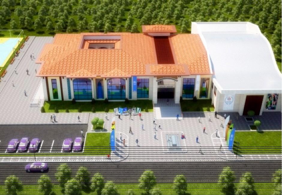 Yıldırım Bayezid Meydan ve Gençlik Merkezi'nin inşaatına başlandı