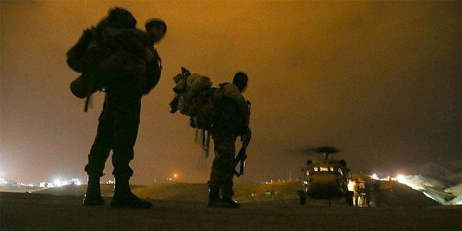 Kuzey Irak'taki PKK'nın terör kamplarına operasyon