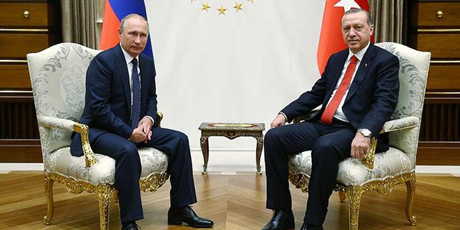 Erdoğan'dan Putin'e tebrik telefonu