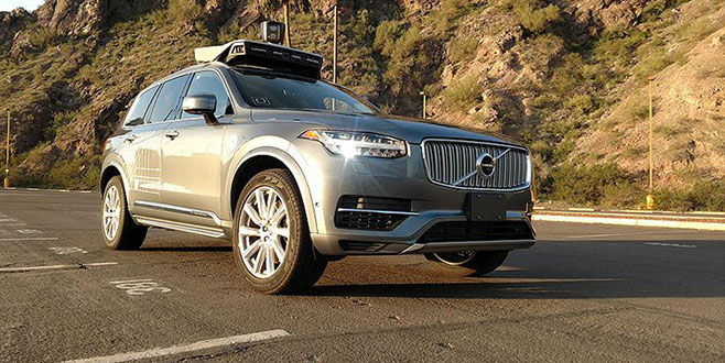 Uber'in sürücüsüz aracı yaya ölümüne neden oldu