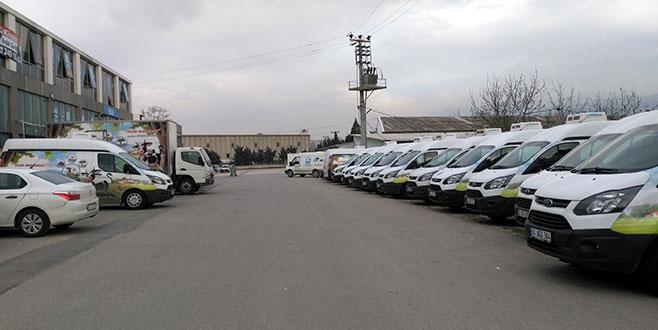 Bursa'da Çiftlik Bank'ın 34 aracına el konuldu