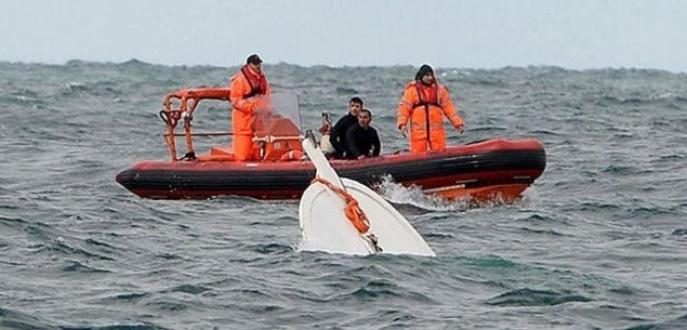 Bodrum'da tekne battı