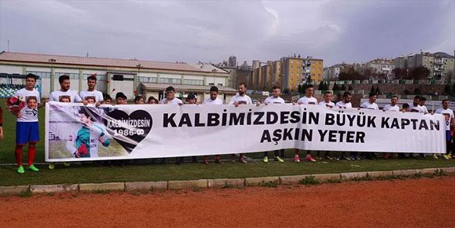 Kestel Orbayspor, Kaptan Aşkın Yeter'i unutmadı