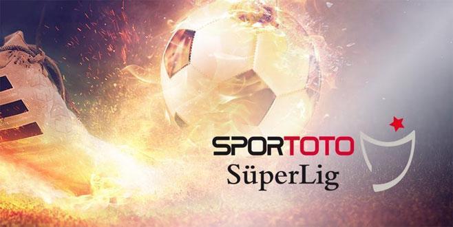 Süper Lig'de 5 haftanın programı belli oldu
