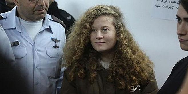 'Filistinli Cesur Kız' Temimi'ye 8 ay hapis cezası
