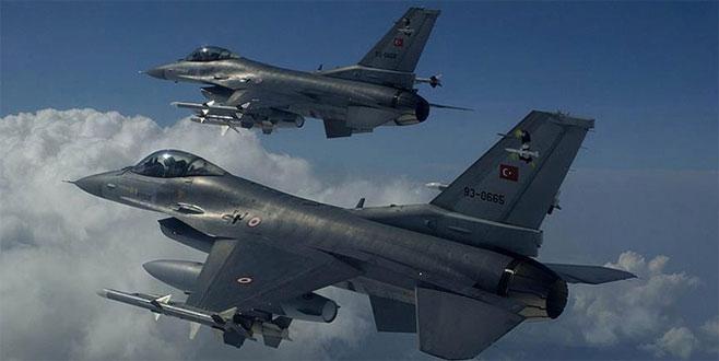 TSK havadan vurdu: 10 terörist öldürüldü