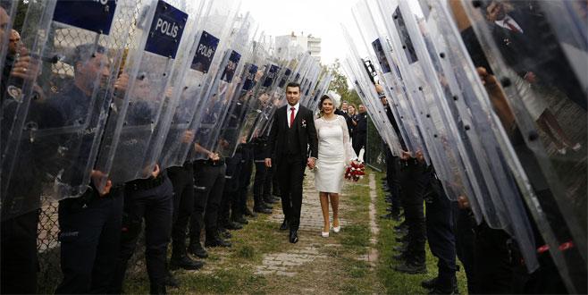 Kendisini kaza ile vuran meslektaşıyla evlendi