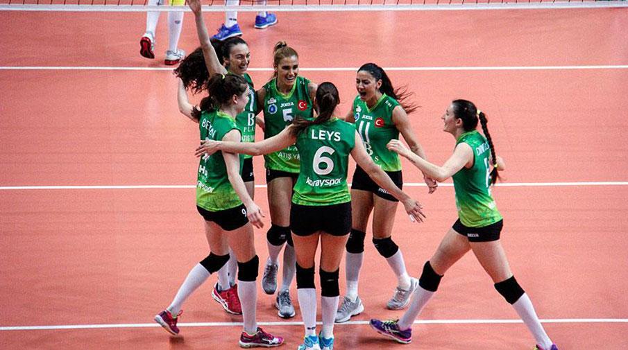 Bursa Büyükşehir Belediyespor finali garantiledi