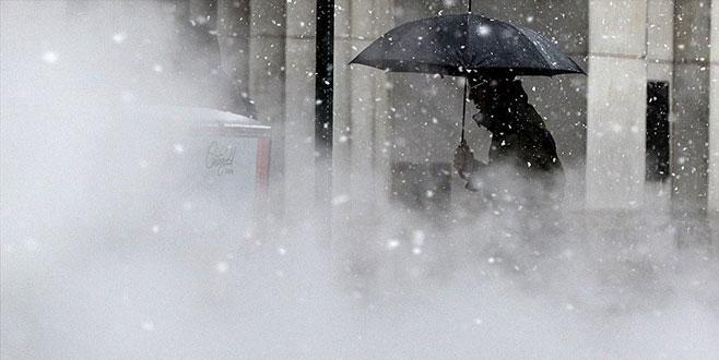 Bize bir türlü gelmeyen kar, ABD'yi terk etmiyor